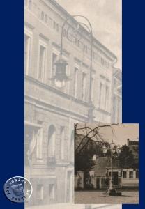1903 erstrahlte in Neutomischel erstmalig die Gasbeleuchtung in den Straßen - Bild: Postkartenausschnitte