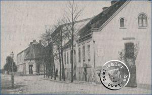 """Die frühere """"Landwirtschaftliche Winterschule Neutomischel"""" - Bild aus dem Originalartikel"""
