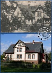 Früher und Heute - Bild: Zusammenstellung Postkartenausschnitt und Foto PM