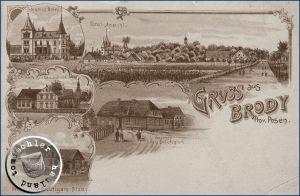 Brody / Ansichtkarte aus der Sammlung des Wojtek Szkudlarski