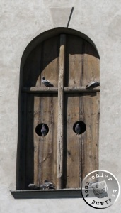 Tauben bewohnen heute den Kirchturm / Aufn. GT