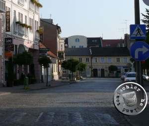 Direkter Blick auf das ehemalige Hausgrundstück No. 15 in Neu Tomysl / Aufn. PM
