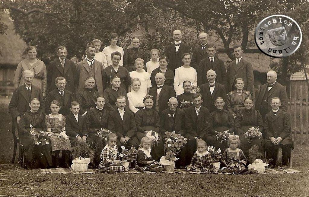 Goldene Hochzeit in Zinskowo - 1924 / Foto: Familienbesitz