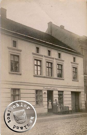 Das Gebäude der Familie Lemberg - ca. 1912 / Bild Familienbesitz Tracy Walters