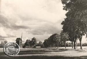 Die alte Chaussee von Neu Tomysl nach Boruy - Karte: Wojtek Szkudlarski