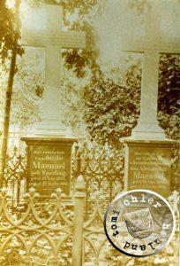 Ehem. Grab der Familie Maennel - Bild Maennel Archiv