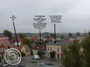 Blick auf die Nord-Ost Ecke es ehemaligen Neuen Marktes / Aufn. PM