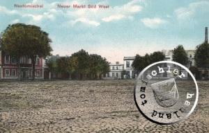 Die No. 47 als rotes Gebäude links im Bild - Karte Sammlung Wojtek Szkudlarski