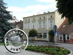Die ehemalige Apotheke / Aufn. KM