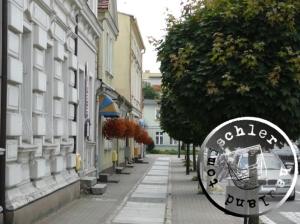 Häuserzeile am ehemaligen Neuen Markt, heute Plac Niepodległości / Aufn. KM