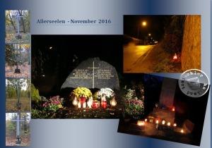 Sie sind nicht vergessen ! - Bilder ehemaliger Friedhöfe in den Gemeinden und der Stadt Nowy Tomyśl/Neutomischel zu Allerseelen 2016