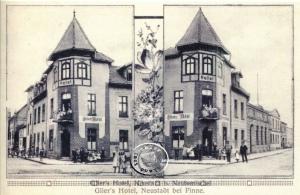 Glier's Hotel - Bild: Lwówek na dawnej pocztówce