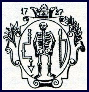 """Berliner Chirurgensiegel, datiert 1727 / Bild: Buch """"Alte Berufe"""""""