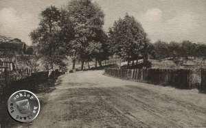 Alte Strasse von Alttomischel nach Wytomysl - Postkartenausschnitt