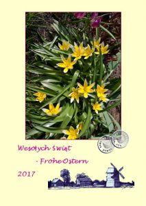 Frohe Ostern – Święta Wielkanocne 2017