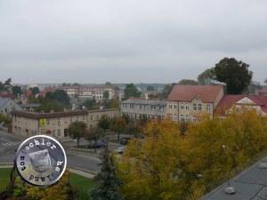 Blick auf die nordwestliche Ecke des ehem. Neuen Marktes wo seinerzeit das Feuer wütete / Bild: Przemek Mierzejewski