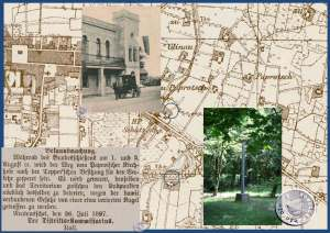 Wegesperrung vom Süden ab dem Paprotscher Friedhof bis zur Tepper'schen Besitzung