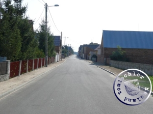 Die Hauptstrasse von Tarnowa / Aufn. PM