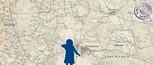 Kartenausschnitt mit der Strecke Rojewo - Neu Boruy / Messtischblatt 3763 - http://mapy.amzp.pl/tk25.cgi?23,48,60,80