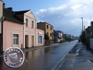 Blick in die heutige Ogrodowa, die einstige Gartenstraße / Aufn. PM