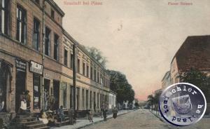 Neustadt b.P. - die ehemalige Pinner Str. / AK Sammlung Wojtek Szkudlarski