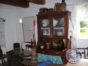 Zur Kücheneinrichtung gehörte auch ein Butterfaß / Aufn. PM (3)