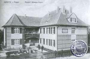 """Das ehemalige Heim der """"Rudolf Mosse Stiftung"""" (1.)"""