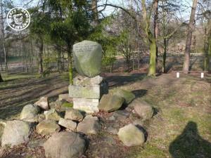 Gedenkstein zur Begründung des Stadtparks (Paprotsch)